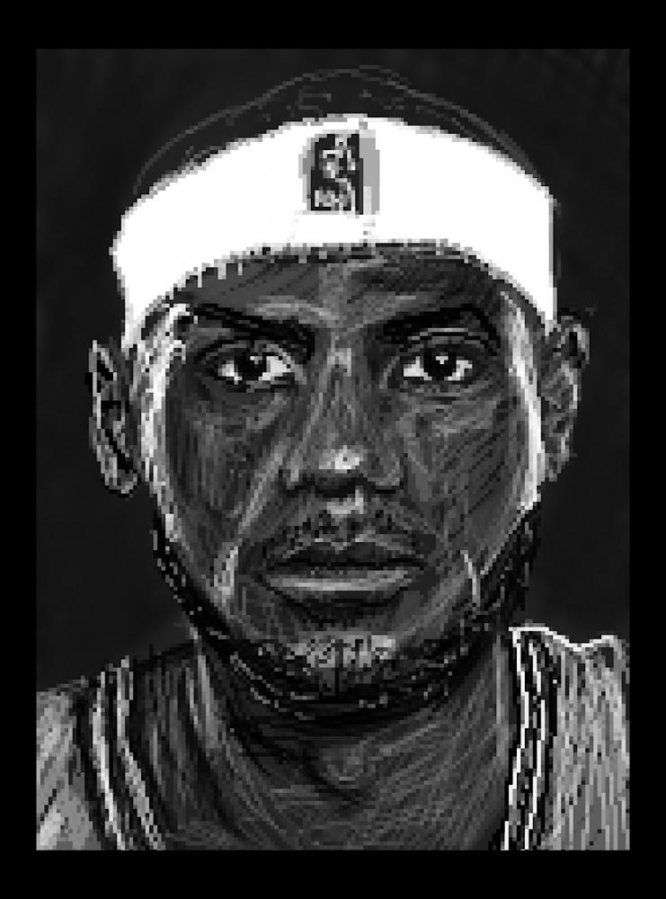 LeBron James by Zilmari